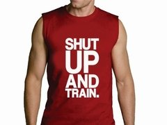 Playera Callate Y Entrena / Gym Shut Up And Train Gimnasio en internet