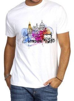 Playeras Londres Travel Moda Caballero en internet