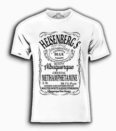 Playeras O Camiseta Heisenberg Breaking Bad