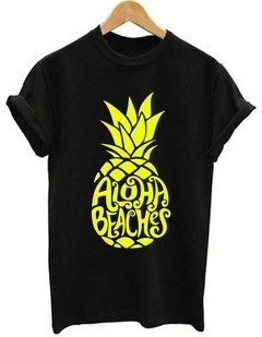 Playera Dama Aloha Beaches Moda  - Jinx