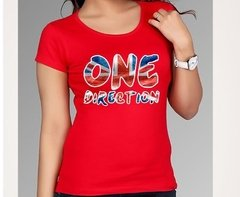 Playera O Camiseta One Direction Logo Clasico