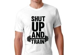 Playera Callate Y Entrena / Gym Shut Up And Train Gimnasio - Jinx
