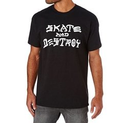 Playera Skate And Destroy Skater Estilo Toy Machine