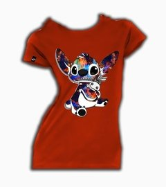 Playeras O Camiseta Stitch Universe 100% Cool