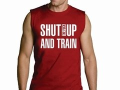 Playera Callate Y Entrena / Gym Shut Up And Train Gimnasio