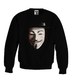 Sudadera V De Venganza Eve Mascara Guy Fox V Vendetta