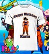 Playera Personalizada Dragon Ball Z Goku