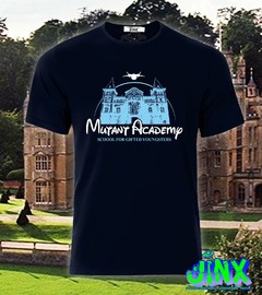 Playera o Camiseta Mutant Academy X-men