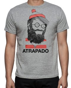 camiseta playera wally atrapado