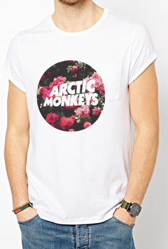 camiseta playera artic monkeys