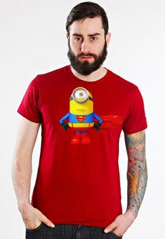 playera minion rojo
