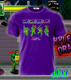 Playera o Camiseta Konami Turtles en internet