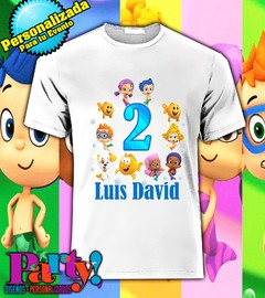 Playera Personalizada Bubble Gupies  - Jinx