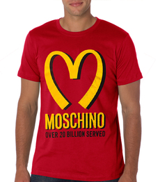 playera camiseta moschino