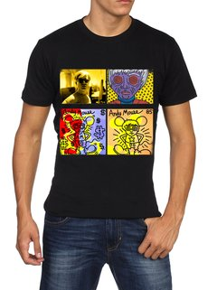 camiseta playera warhol pop
