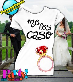 Playera Personalizada Despedida Soltera Wedding  en internet