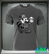 Mickey mouse blanco negro