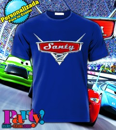 Playera Personalizada Cars Mc Queen  - Jinx