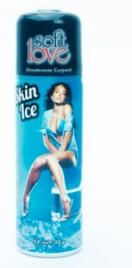 Skin Ice Desodorante Ultra Refrescante - Soft Love