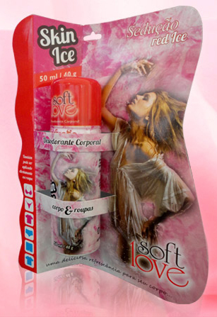 Red Ice Desodorante Ultra Refrescante Red Ice - Soft Love  - comprar online