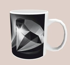 Caneca Diamante Negro na internet