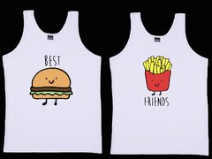 "Kit Camisetas Regatas ""BEST FRIENDS"""