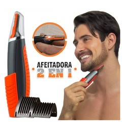 Maquina Afeitar Micro Touches Patillera Barbera 2 En 1 Switch Blade