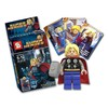 Super Heroes Tipo Lego Advengers Figuras Armables Minecraft