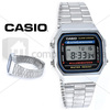 Casio Plateado A168 Old School Retro Original