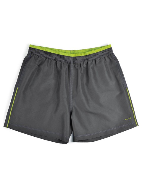 Short Essencial 31317 - cinza/lemon