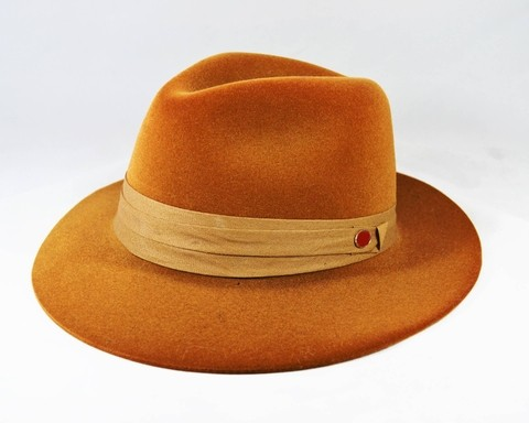 Chapéu Fedora Orange - Aba Média