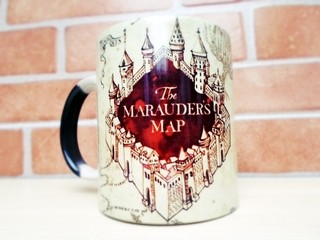 Caneca Magica Mapa Do Maroto Harry Potter Marauders Map