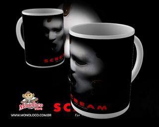 Caneca Scream - Panico - Brandon James