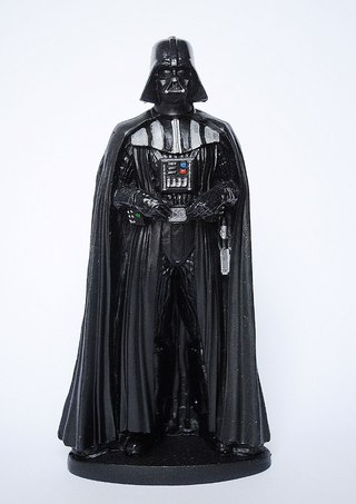 Estatueta em resina Darth Vader Star Wars