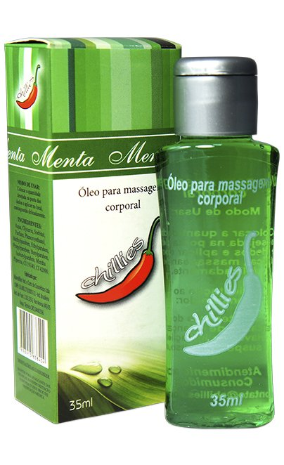Gel Comestivel Menta Hot 30ml - Chillies