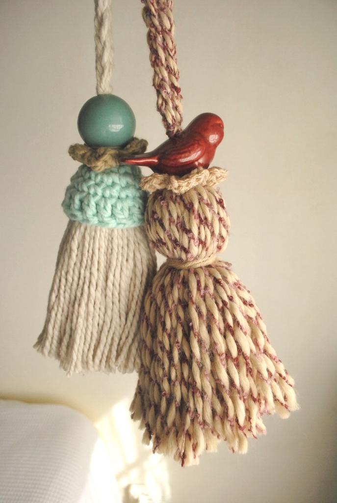 Borla con cord n comprar en che mar a crochet - Adornos para cortinas ...