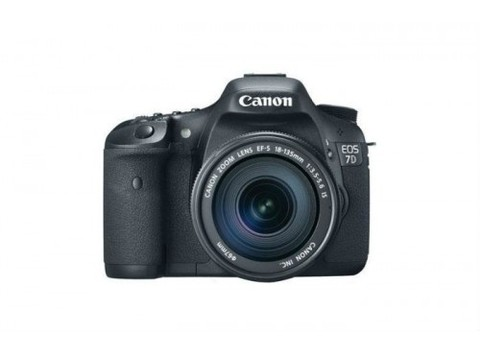 Canon EOS 7D Mark II con Lente 18-135mm