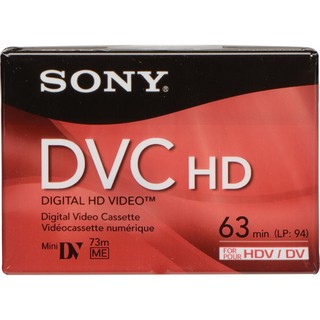 Cassette Mini DV HD Sony (63 min)