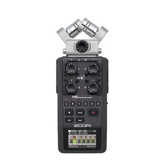 Grabador de Audio Zoom H6 Handy Recorder