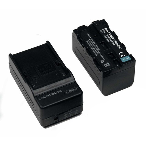 Kit Cargador Genérico y Batería Multiple Power Tipo Sony Serie L NP-F770
