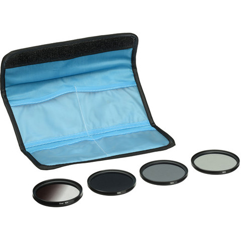 Kit de 4 Filtros ND Marca GB 58mm GBNDFK58
