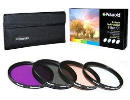 Kit de 4 Filtros Polaroid 77mm (UV,CPL,FLD y Warming) PL4FIL77
