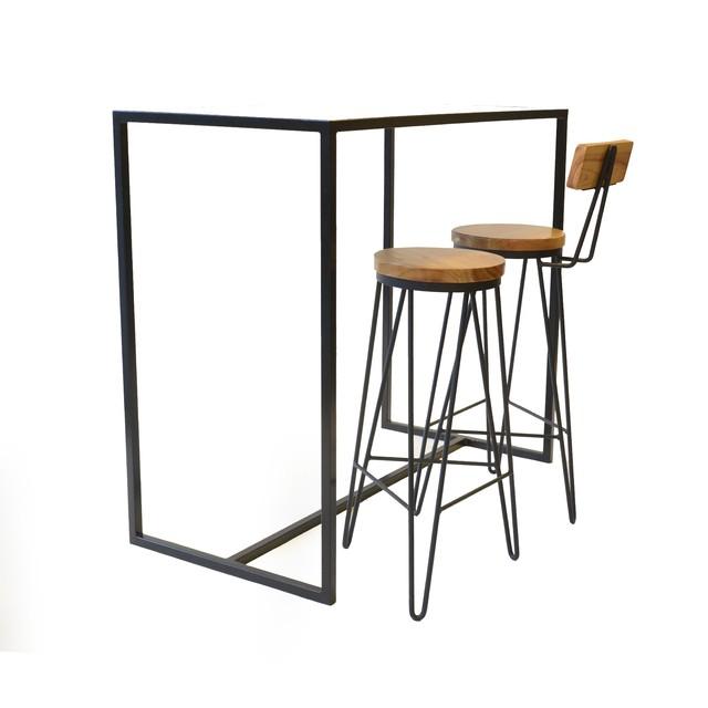 Mesa alta tablo chapa comprar en tabureto - Mesas auxiliares altas ...