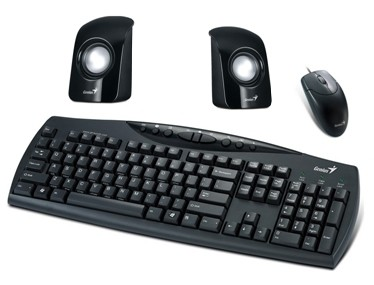 KIT TECLADO + MOUSE + PARLANTE GENIUS KMS U115