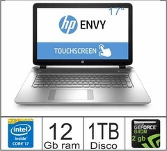 NOTEBOOK HP ENVY 17 - I7 / 1TB /  12GB / NVIDIA GT 840 / 17.3