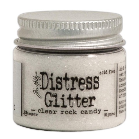 Distress Glitter color Clear Rock Candy Tim Holtz 18 gr - comprar online