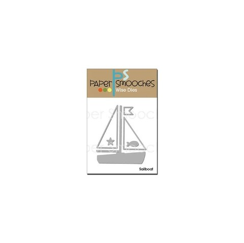 Troqueladora De Barco Sailboat Paper Smooches
