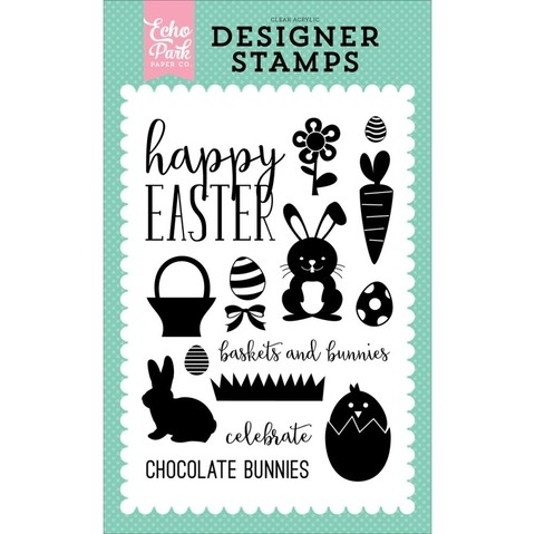Sellos Happy Easter Clear Stamp Echo Park Paper  - comprar online
