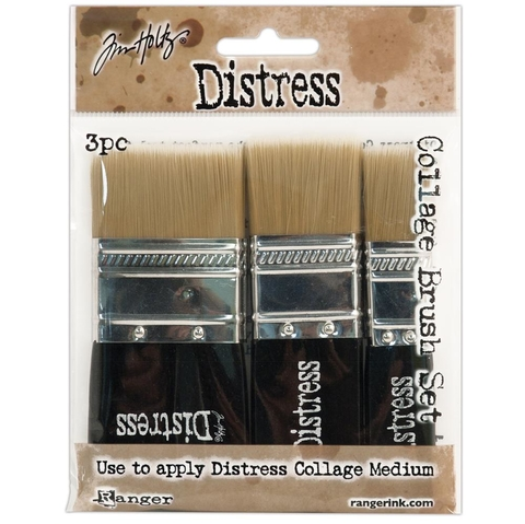 SET DE 3 PINCELES COLLAGE DISTRESS TIM HOLTZ - comprar online