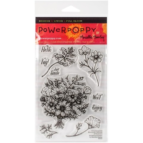 Sellos de Countryside Bouquet Clear Stamp Power Poppy  - comprar online